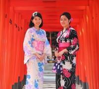 2017년 하카타101의 남녀 유카타 렌탈 서비스 (6월부터 9월까지)